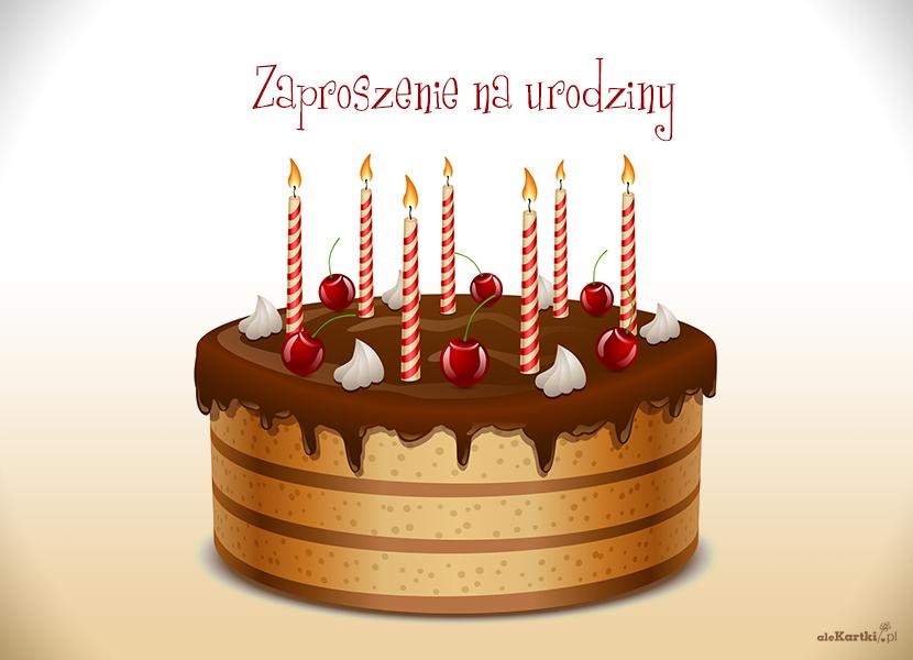 Zaproszenia Na Urodziny