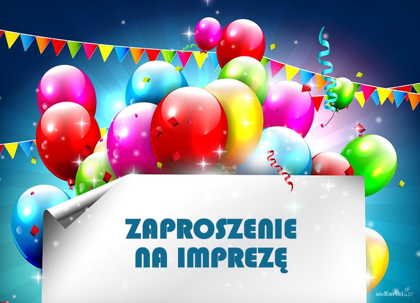 Zaproszenia Na Imprezę