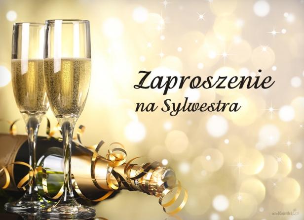 Zaproszenie Na Sylwestra Eleganckie Zaproszenia Sylwestrowe